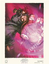 Street Fighter - AKUMA LIMITED EDITION LITHOGRAPH Capcom UDON