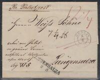 BLN 38116) BERLIN 1841 PAKETBEGLEITBRIEF nach LANGENSALZA