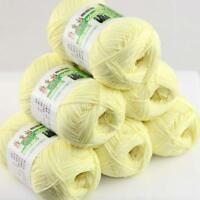 Sale Lot 6 Balls x50g Soft Bamboo Cotton Baby Wrap Hand Knitting Crochet Yarn 17
