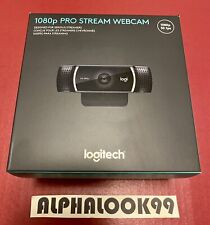 Logitech 1080p Pro Stream Webcam C922 Brand New Sealed Stream Record HERO Pocket
