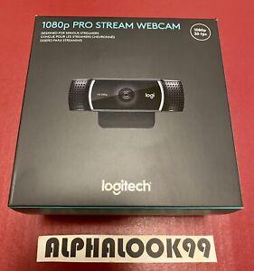 Logitech C920 1080p Pro Stream Webcam Brand New Sealed Stream Racing HERO Pocket