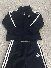 Navy Blue Adidas Tracksuit 18m