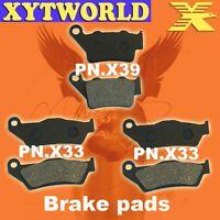 FRONT REAR Brake Pads for Yamaha XT 660 Z Tenere 2008-2013