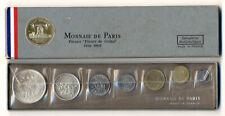 Coffret complet 1965 de la Monnaie de Paris avec 5 et 10 francs argent