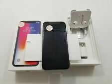 Open Box Apple iPhone X A1865 Unlocked 64 GB Clean IMEI -AT133