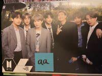 BTS posters (RM, Jin, Suga, J-hope, Jimin, V, Jungkook)