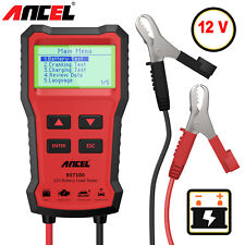 Ancel BST100 12V Automotive Car Battery Tester 220Ah Charging Analyzer 2000CCA