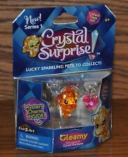 Cra-Z-Art Crystal Surprise Sparkling Pet GLEAMY Series 1 Lucky Charm 2015 NEW