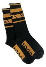 Alpha Phi Alpha Fraternity Inc Alpha Dress Socks Black & Gold Size 9