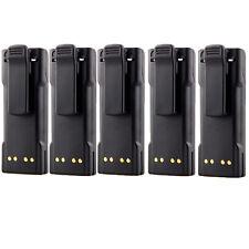 5x 2100mAh Ntn7144 Battery For Motorola Mt2000 Mts2000 Mtx838 Mtx8000 Mtx9000