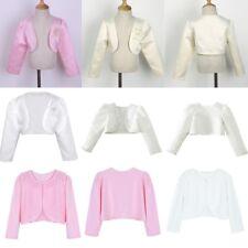 13 years avaailable Girls White  Lace Bolero BO0001 7//8 9//10
