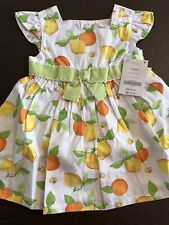 Gymboree Baby Lemon Bumblebee Flower Hat Baby Girls Size 3-6 Months NEW NWT