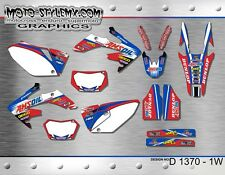 Honda CRf250X CRf 250X  2004 up to 2015 graphics decals kit Moto StyleMX