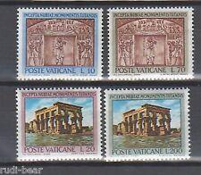 Vatikan Nr.  446-49 ** Denkmäler Nubiens
