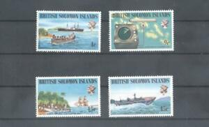 (870478) Map, Ship, Solomon Islands