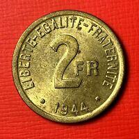 #4887 2 francs 1944 Philadelphie SUP