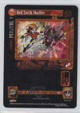 2004 Dragonball GT TCG: Shadow Dragon Saga #70 Red Earth Shatter Gaming Card a3i