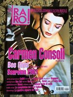 RARO! 121 Magazine about discography ps Carmen Consoli Bee Gees VOX DEI