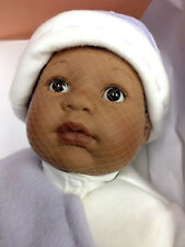 "BERENGUER BABY DOLL 20"" Little Kitten African American AGE 2+ NRFB SALE"