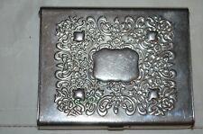 Godinger Decorative Silver Plated Business Card Holder