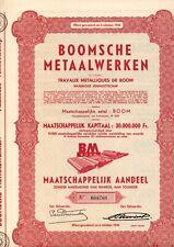 BOOMSCHE METAALWERKEN   BOOM                                        2
