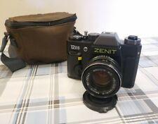 ZENIT 12XS 35mm film SLR camera Soviet 1990 Come nuova Mai usata!