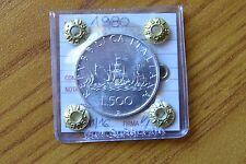 REPUBBLICA ITALIANA MONETA LIRE 500 CARAVELLE 1980 sigillata  FDC SUBALPINA