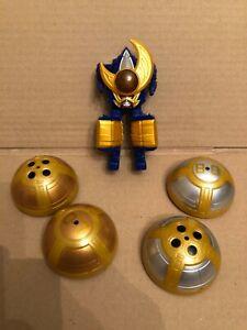 power rangers Ninja Storm Thunder Megazord rare spare parts Mini Zord and balls