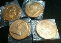 15 (Fifteen) US Mint Presidential High Relief Bronze Inaugural Medals
