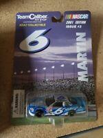 Team Caliber NASCAR 2001 Edition Issue #3 Stock Car Martin #6 VIAGRA diecast