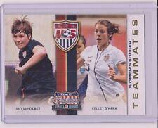 RARE 2012 PANINI AMERICANA LEPEILBET / KELLEY O'HARA CARD #8 ~ WORLD CUP SOCCER