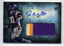 2012 Topps JARIUS WRIGHT Rookie RC AUTO AUTOGRAPH JUMBO PATCH Minnesota Vikings