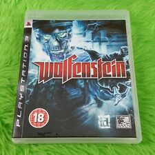 ps3 WOLFENSTEIN Sci-Fi First Person Shooter Game Playstation REGION FREE PAL UK