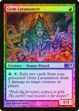Grim Lavamancer FOIL Magic 2012 / M12 HEAVILY PLD Red Rare MAGIC CARD ABUGames