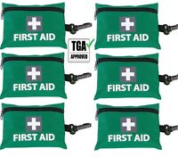 6 x 43pcs MINI FIRST AID KIT Emergency Survival Medical Travel Hiking Pocket Car