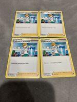 x4 Professor's Research - 060/073 - Rare Pokemon Shining Fates M/NM