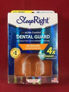 SleepRight ULTRA COMFORT No-Boil OR MICROWAVING Dental Guard BRAND NEW
