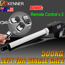 Actuator Automatic Motor Powered Remote Swing Gate Opener Operator Left 500KG