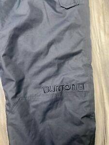 Burton DryRide Snowboard/Ski Room to Grow Pants Youth XL US18 Black