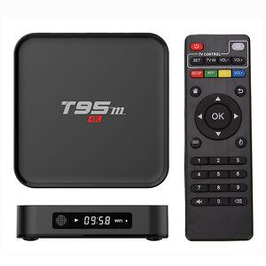 Sunvell T95M 1GB 8GB TV Box Amlogic S905X Quad Core 64Bit Android 5.1 Smart 4K