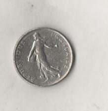 Francia France 1/2 Franc Franco 1966