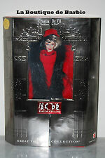 BARBIE CRUELLA DE VIL RUTHLESS IN RED, GREAT VILLAINS COLLECTION, 17576, NRFB