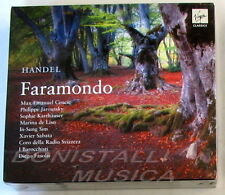 Handel; FARAMONDO - CENCIC, JAROUSSKY - FASOLIS - 3 CD Virgin - Sigillato