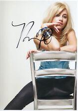 PIXIE LOTT - Signed 12x8 Photograph - MUSIC - SINGER