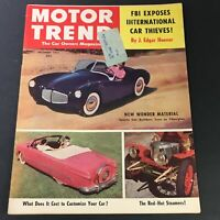 VTG Motor Trend Magazine December 1952 - Exposed Car Thieves by J. Edgar Hoover