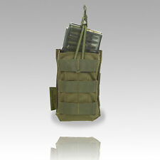 Clearance SALE TAS - Single Open M4 Magazine Pouch Olive Green
