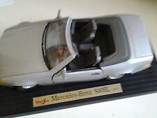 MERCEDES BENZ 500 SEL CABRIO 1989    DELLA MAISTO BURAGO    SCALA 1/18