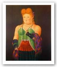 FIGURATIVE ART PRINT High Society Fernando Botero