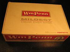 Cigar Box WM PENN Perfecto 5 Cent [Y32f]