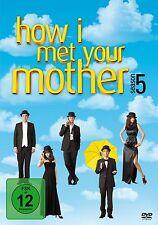 HOW I MET YOUR MOTHER, Season 5 (3 DVDs) NEU+OVP
